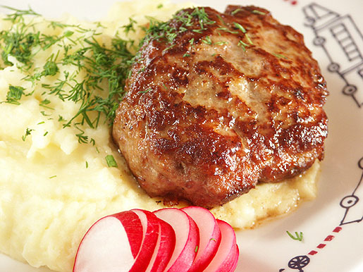 Рецепт фарша для котлет из свинины и говядины в