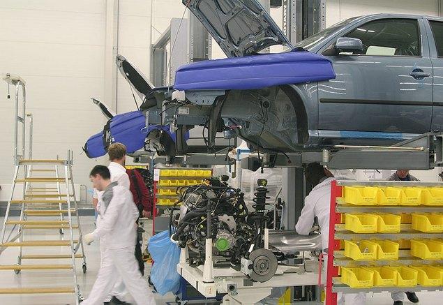 Завод Volkswagen в Калужской области начал свою работу в 2007 году. В