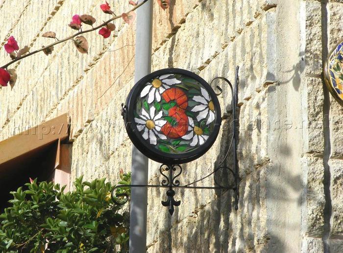 Pinterest мозаичный номер дома