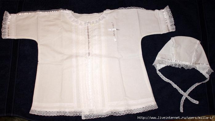 Крестильная рубашка для взрослого 12