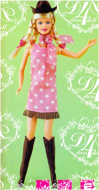 Описание: Вязанные платья для Барби, шить для Барби