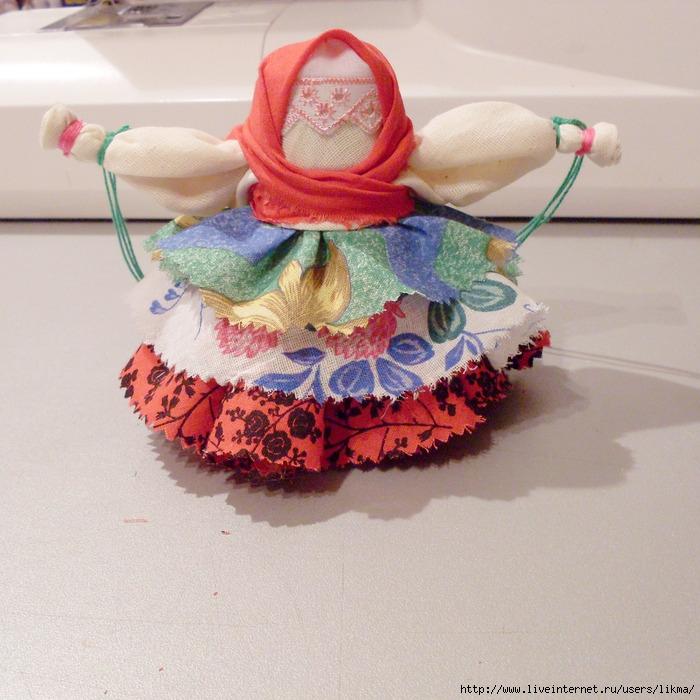 Мастер класс народная кукла колокольчик