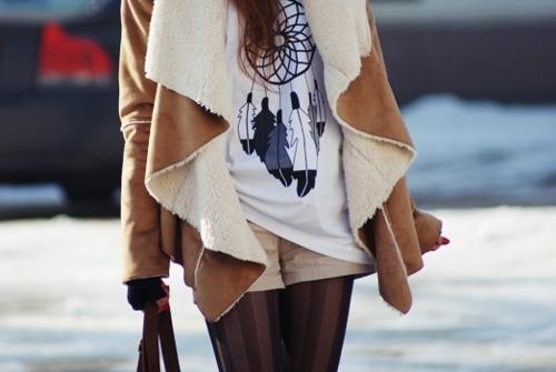 зима, девушка, куртка, городской стиль, ловушка для сна - картинка 322...