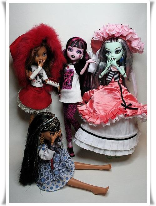 Одежда для кукол своими руками для монстер хай