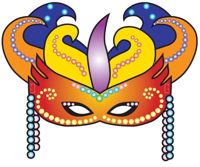 Новогодние маски своими руками для детского сада