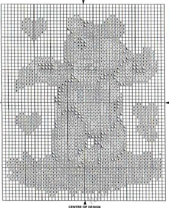 Детская вышивка крестиком