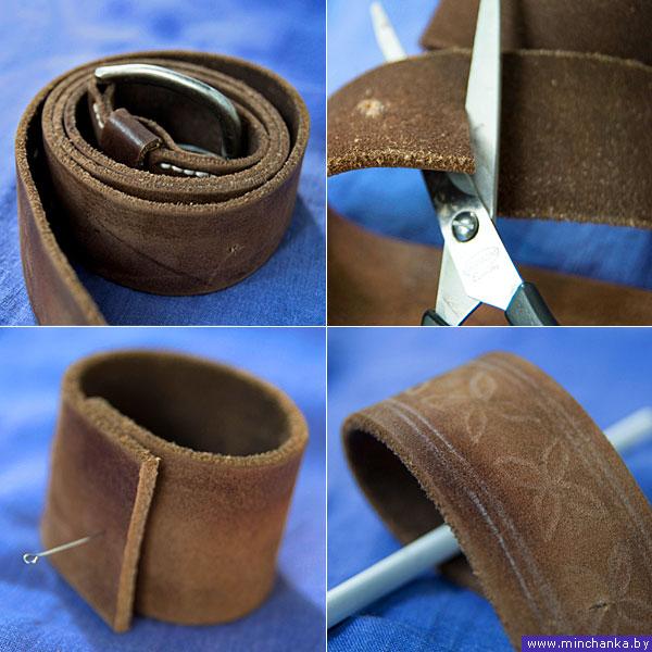 Сделать кожаный ремень своими руками