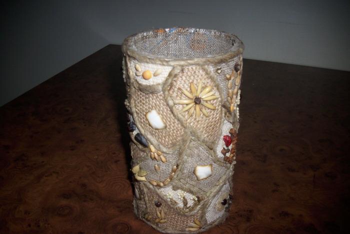 Сделать напольную вазу из пластиковых бутылок своими руками266