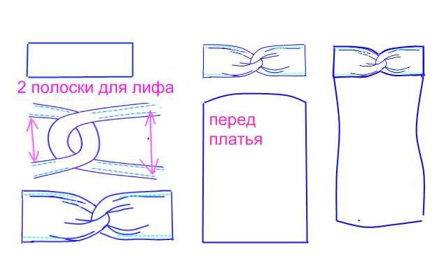 видеоурок как сшить банное полотенце