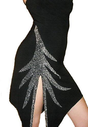 Платье из бисера.