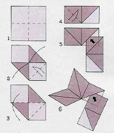 Как сделать из бумаги звездочку на елку
