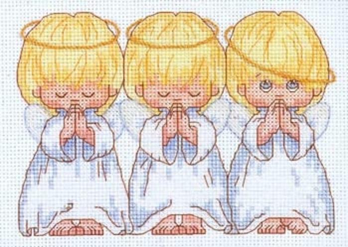 ангелы вышивка -; - вышивка