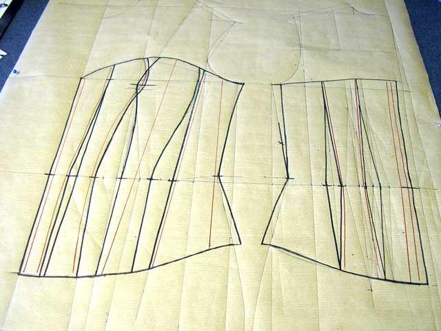 Пошив корсета своими руками