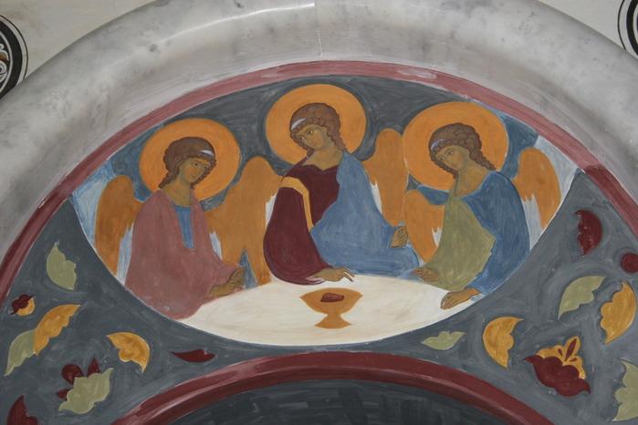 посещение роспись храма иконописная школа при мда автоэлектрик