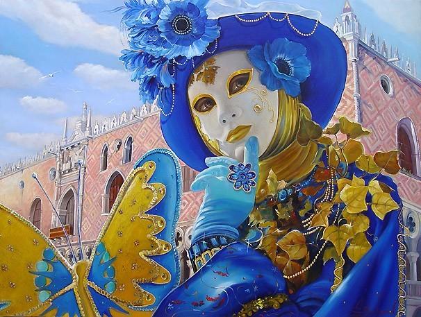 Каждый год свыше полумиллиона туристов приезжают в Венецию на...