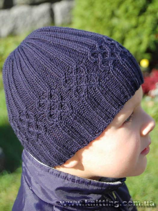 Вязаные шапки спицами для мужчин. гетры схема вязания.
