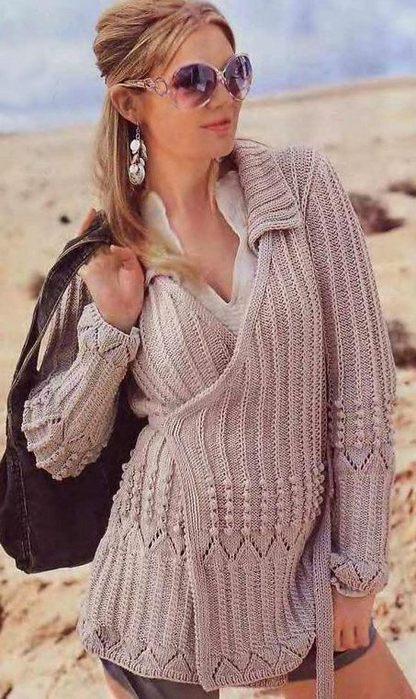 Вязание для чайников спицами свитер