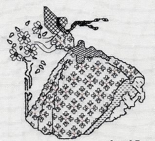 ручная вышивка март 2007, ручная вышивка бисером пайетками.