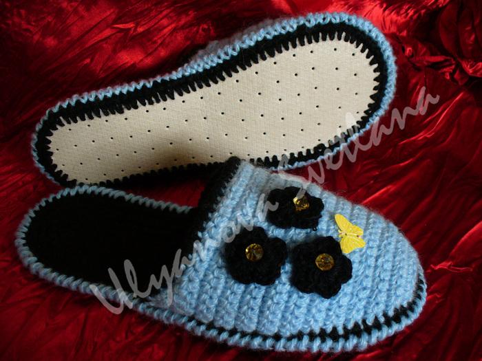 Вязание/Носочки, тапочки.