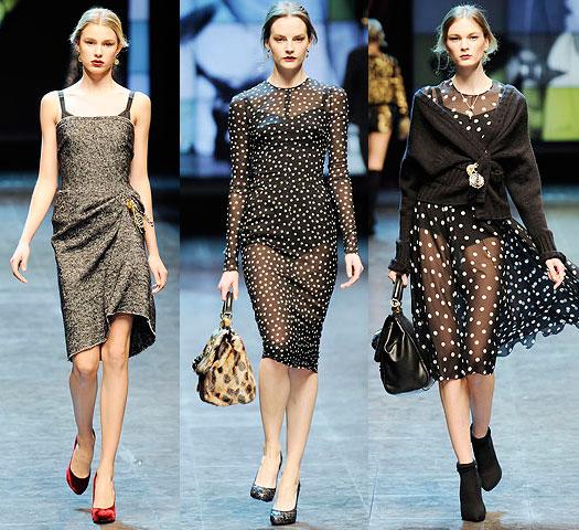 Dolce & Gabbana представили на Неделе моды в Милане свои коллекции.