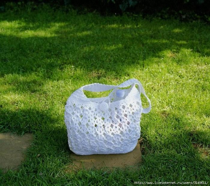 Вязание крючком сумки схемы и