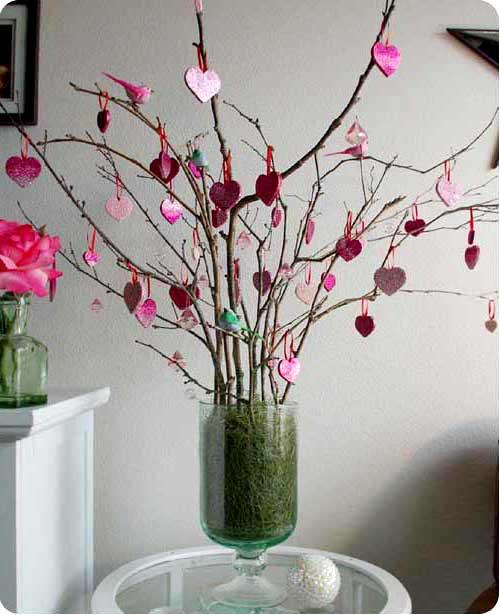 Устройте своим любимым сюрприз, создайте на день Св. Валентина праздничную атмосферу, создавая разные декорации.