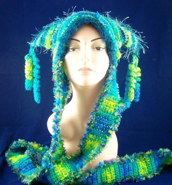 Вязание шапок схемы бесплатно. шапочки вязаные крючком.