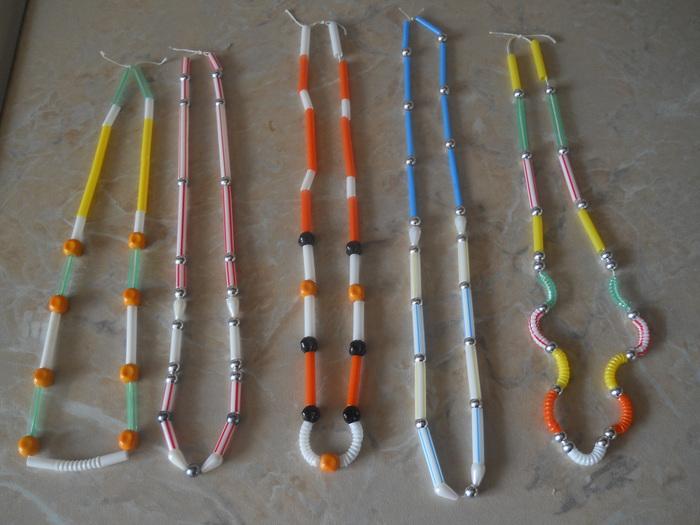 Поделки из трубочек для коктейля