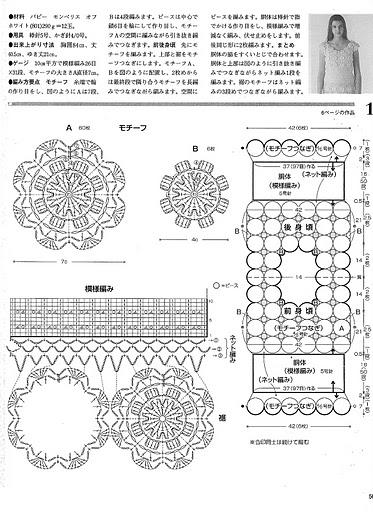 Бесплатные схемы вязания салфеток с цветами и вазочек.