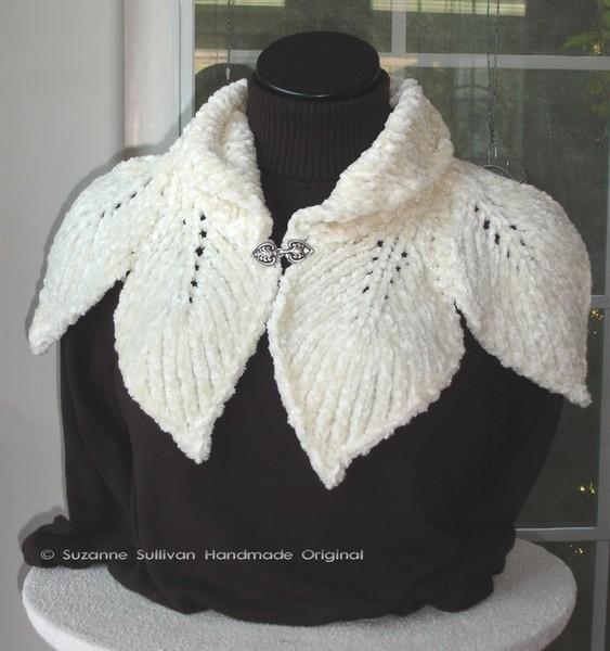 Spring Scarf Knitting Pattern : spring scarf: free knitting patterns make handmade ...