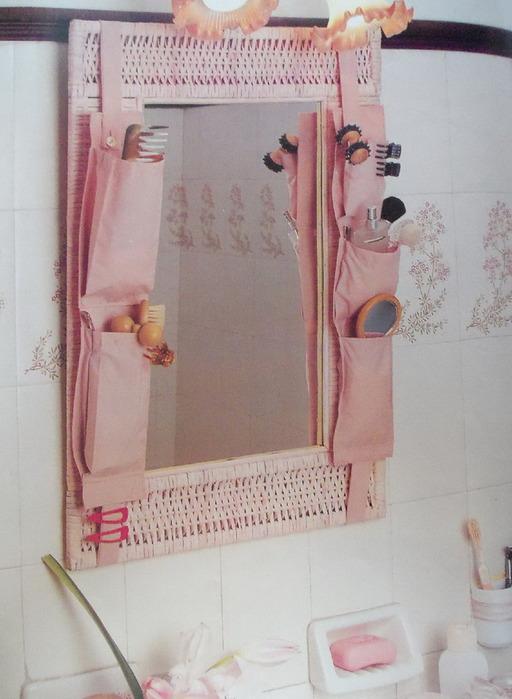 Шьем органайзер для ванной
