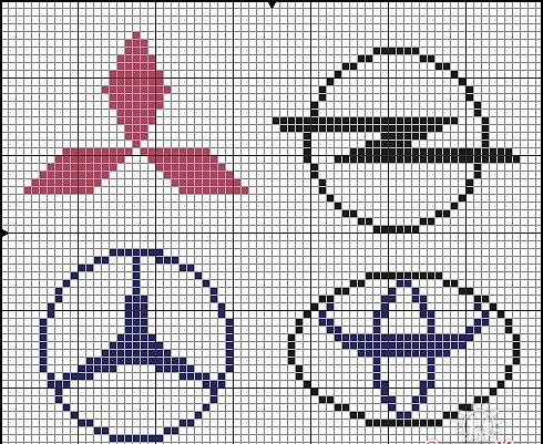 Вышивание крестом, вышивка