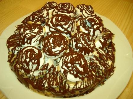 Торт графские развалины рецепт пошагово