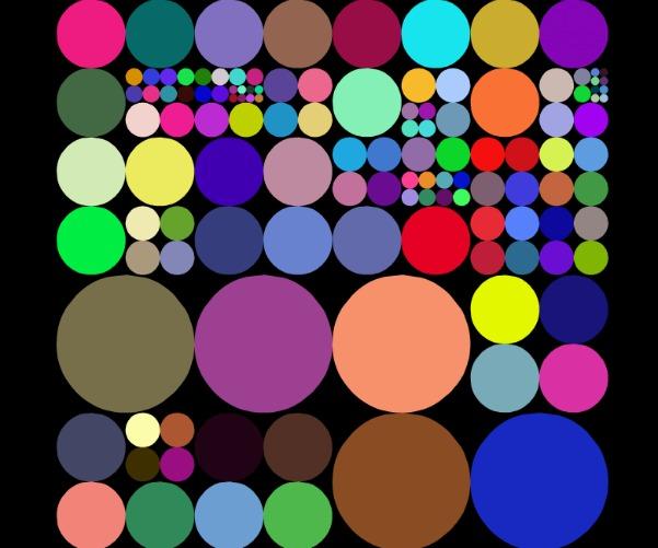 Рисунок из кругов игра