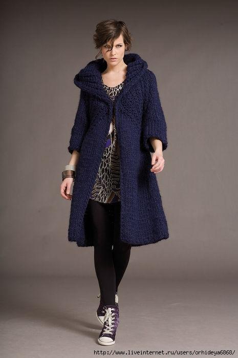 Описание: b Вязание спицами пальто .  Кройка, шитье, вязание - способы и приемы. ужские шапки, ажур на спицах схемы.