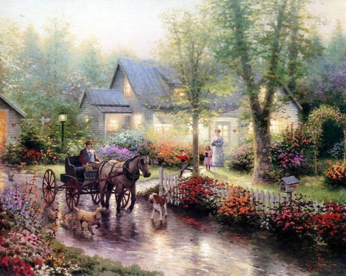 Блог.ру - master-of-light - Картины Томаса Кинкейда 3.