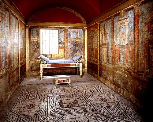Интерьер древних домов
