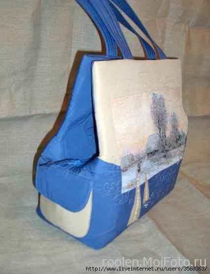 сумка на зиму крючком схема