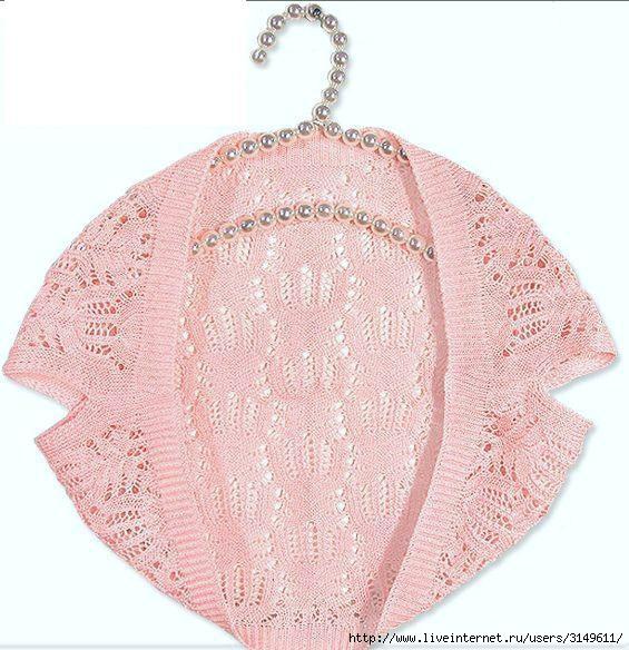вязание крючком схема болеро для девочки, вязаные жакеты схемы.