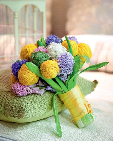 Как сделать для бабушки цветы