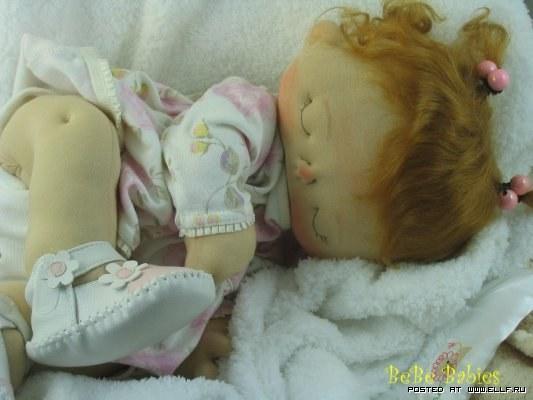 Кукла младенец из ткани