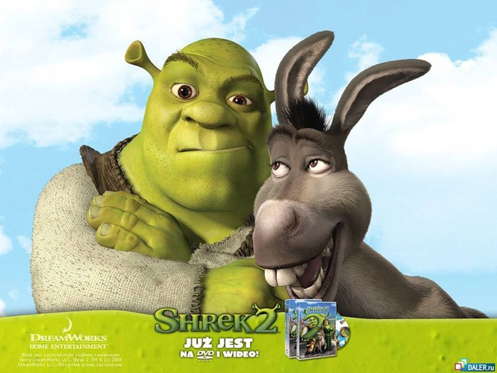 Мультик Shrek II, Шрек - 1024x768 Wallpaper pictures for desktop.
