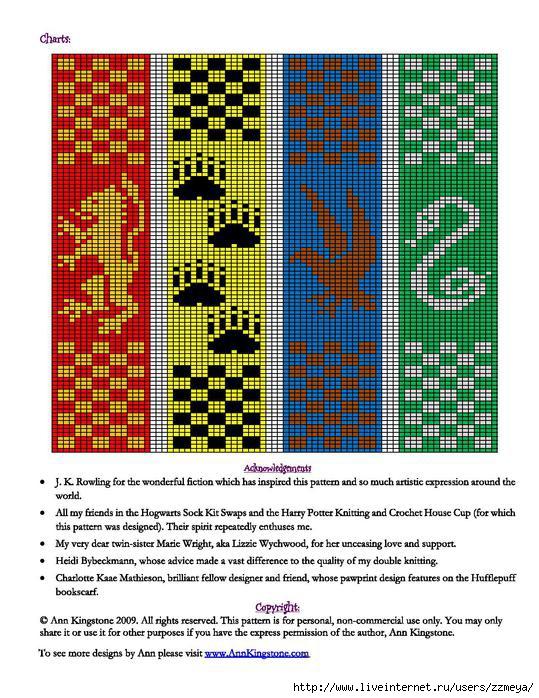 схема фенечка британский флаг