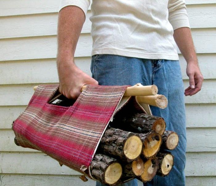 Емкость для дров своими руками