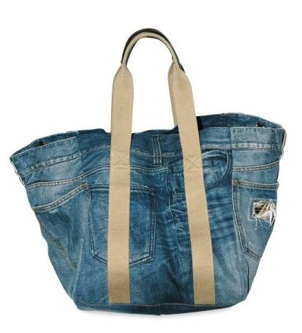 сшить сумку рюкзак из старых джинсов.