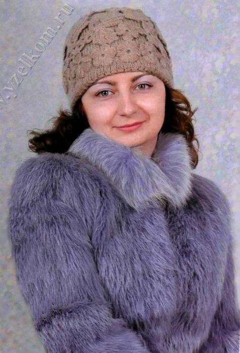 вязанные шапки зимние.