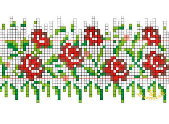 Схема для плетенья пасхальных