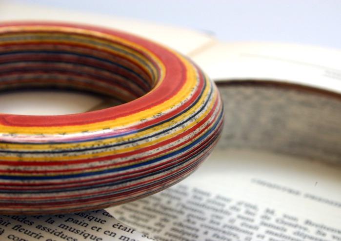 Изготовление бижутерии своими руками из старых книг (бумаги). Бижутерия своими руками