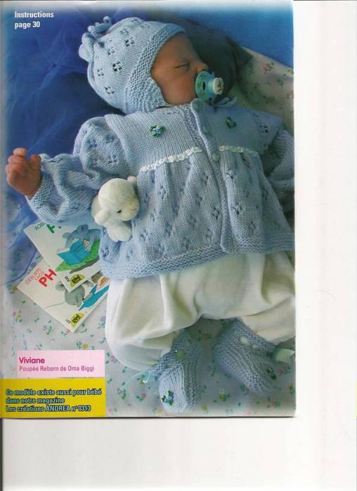 Вязаная одежда для новорожденных фото
