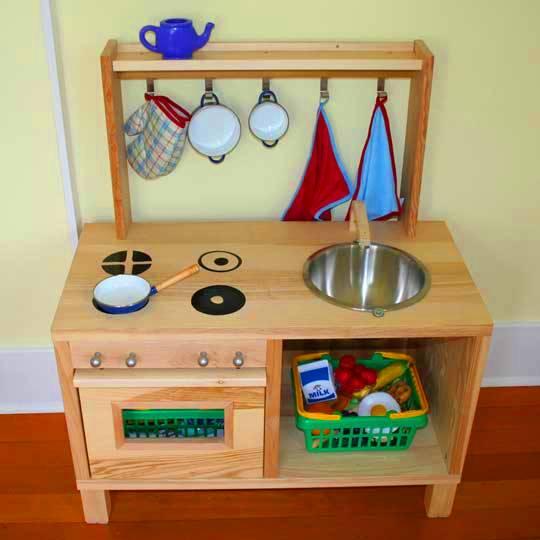 Кухня игрушечная своими руками